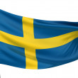 Stock Photo: Sweden National Flag
