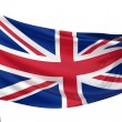 United Kingdom National Flag — Stock Photo