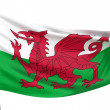 Wales National Flag — Stock Photo
