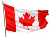 Canada National Flag — Stock Photo