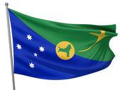Bandiera nazionale isola christmas — Foto Stock