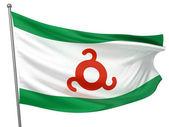 Ingushetia National Flag — Stock Photo