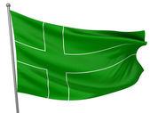 Ladonia National Flag — Stock Photo