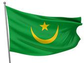Mauritania National Flag — Stock Photo