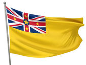 Niue National Flag — Stock Photo