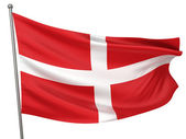 Sovereign Military Order of Malta Flag — Stock Photo