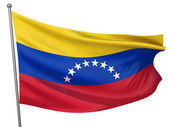 Venezuela National Flag — Stock Photo
