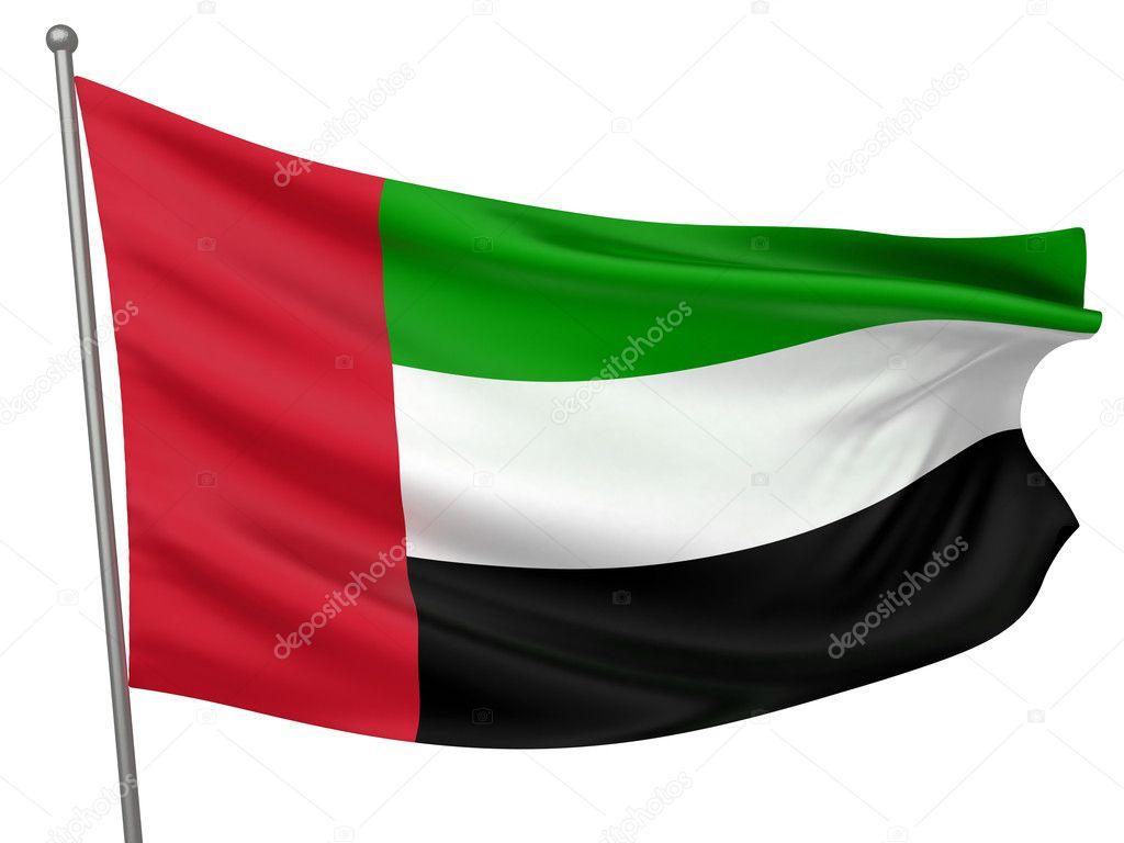 United Arab Emirates Flag Wallpaper United Arab Emirates National