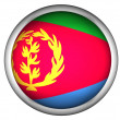 National Flag of Eritrea — Stock Photo