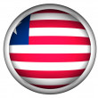 National Flag of Liberia — Stock Photo
