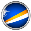 National Flag of Marshall Islands — Foto Stock