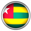 Stock Photo: National Flag of Togo | Button Style |