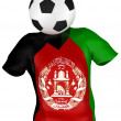 Soccer Team of Afghanistan | All Teams — Stock Photo #2585710