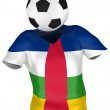 Soccer Team of Central African Republic — Stock Photo #2585828