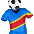 Soccer Team of Congo Democratic Republic — Stock Photo #2585856