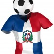 Soccer Team of Dominican Republic — Stock Photo #2585890