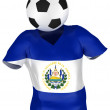 Soccer Team of El Salvador | All Teams — Stock Photo