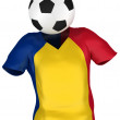 Soccer Team of Romania | All Teams — Stock Photo #2586133