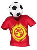 Soccer Team of Kyrgyzstan | All Teams — Stock Photo
