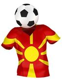 Soccer Team of Macedonia | All Teams — Stock Photo