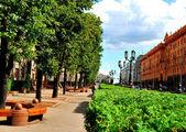 Urban Boulevard — Stock Photo