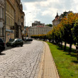 Stock Photo: Road-stone laid in an old European city