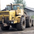 Heavy equipment loader - Stock Photo