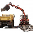 Stock Photo: Dredging Technology