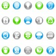 Royalty-Free Stock Vector Image: Vector environmental icons.