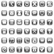 Vector web icons. — Vector de stock