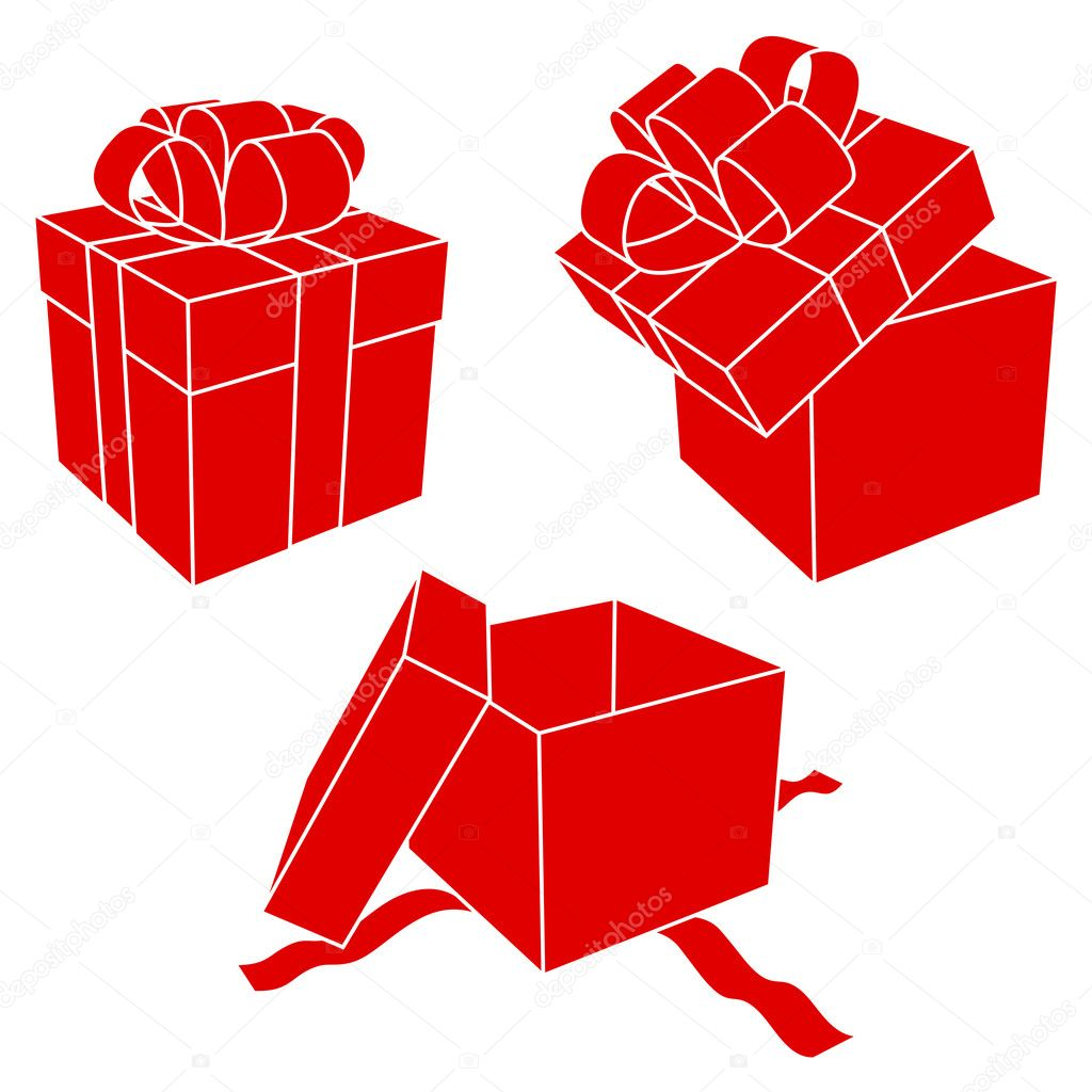 Vector gift boxes     ...