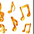 Royalty-Free Stock Vectorafbeeldingen: Music notes.