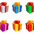 Royalty-Free Stock Vector Image: Gift boxes.
