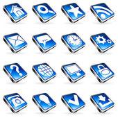Web icons. — ストックベクタ