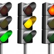 Royalty-Free Stock Vector Image: Traffic lights.