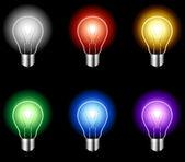 Light bulb. — Stock Vector