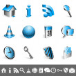Icons collection. — Stockvectorbeeld