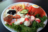 Sea Food Plate — Stock Photo