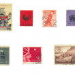 Royalty-Free Stock Photo: Chinese Postal Stamps