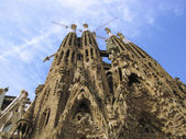 Sagrada Familia Under Construction — Stock Photo