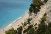 Beach On Lefkada Island — Stock Photo
