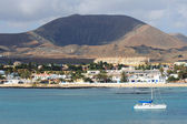 Town Of Corralejo — Stock Photo