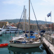 Stock Photo: Yachts in harbor of Nice