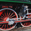 Stock Photo: Locomotive Wheels