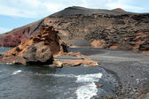 El Golfo bay, Lanzarote, Canary islands — Stock Photo