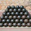 Cannon balls — Stock Photo #1094316