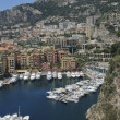 Harbor of Fontvieille in Monaco — Stockfoto