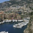 Harbor of Fontvieille in Monaco — Stok fotoğraf