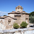 Byzantium Church In Athens - Stock Photo