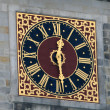 Royalty-Free Stock Photo: Clock On The Hamburg City Hall